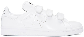Raf Simons White adidas Originals Edition Stan Smith Comfort Sneakers $415 thestylecure.com
