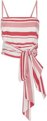 MDS Stripes Multi Stripe Everything Top $275 thestylecure.com