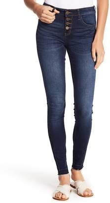 Fly London ASHLEY MASON Button Skinny Jeans