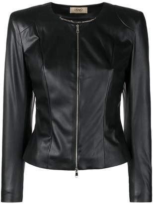Liu Jo zip fitted jacket