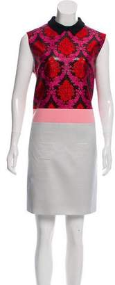 Mary Katrantzou Mast Silk & Wool-Blend Dress