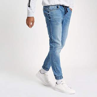 River Island Mid blue Ryan jogger jeans