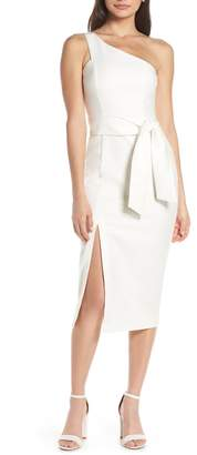 Finders Keepers Francis One-Shoulder Sheath Dress