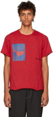 Abasi Rosborough Red Limited Edition Crimson Arc T-Shirt