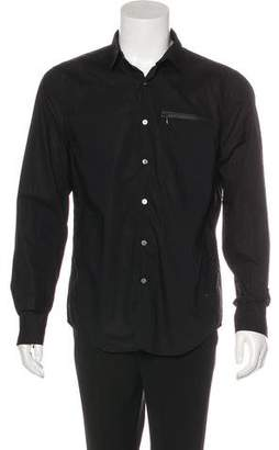 Opening Ceremony Woven Button-Up Shirt