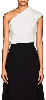 Lanvin Women's Silk One-Shoulder Top