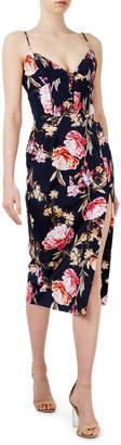 Nicholas D1479LF Lucile Floral Corset Bra Dress