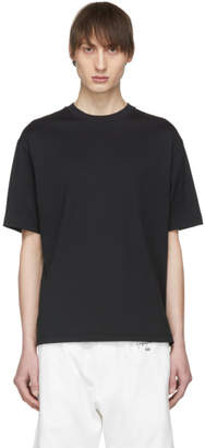 Y-3 Black Striped Signature T-Shirt