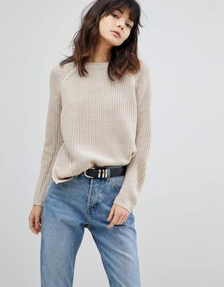 Asos Ultimate Chunky Jumper With Crew Neck