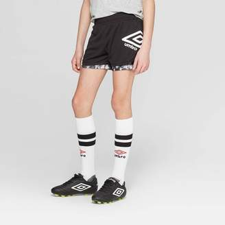 Umbro Girls' 2-in-1 Training Shorts