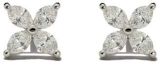 Tiffany & Co. ティファニー ビクトリア ダイヤモンド ピアス ミディアム プラチナ