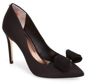 Women's Ted Baker London Azeline Bow Pump $209.95 thestylecure.com