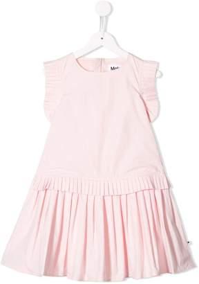 Molo Kids ruffle sleeve dress