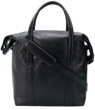 Maison Margiela square round top handle tote