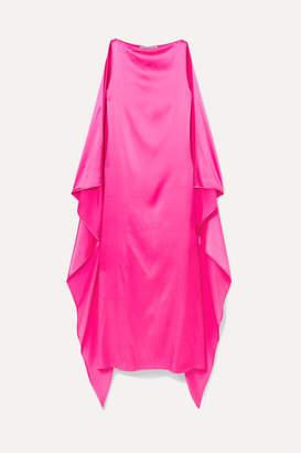 BERNADETTE - Judy Silk-satin Maxi Dress - Pink