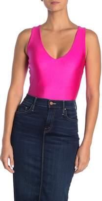 Blvd V-Neck Neon Color Bodysuit