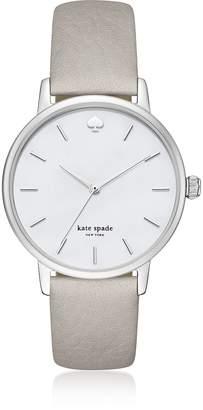 Kate Spade Classic Metro Silver Tone/Gray Women's Watch
