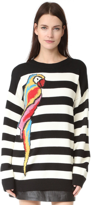 Marc Jacobs Long Sleeve Crew Sweater $550 thestylecure.com