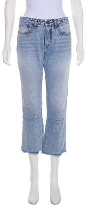 R 13 2017 Kick Fit High-Rise Jeans