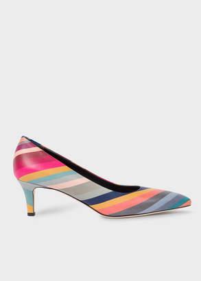 Paul Smith Women's 'Swirl' Leather 'Blanca' Heels