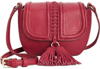 INC International Concepts Burland Mini Saddle Bag, Only at Macy's $49.50 thestylecure.com