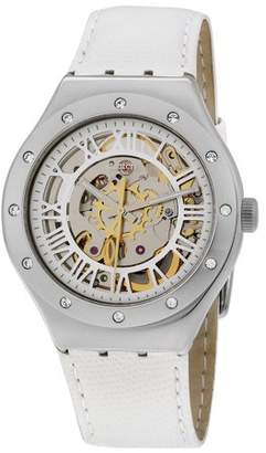 Swatch Irony Automatic Movement Silver Dial Ladies Watch YAS109
