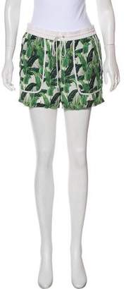Rebecca Minkoff Silk Printed Shorts