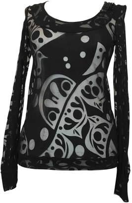 Azzaro Black Lace Top for Women Vintage