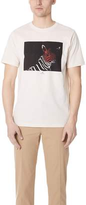 Paul Smith Regular Fit Zebra Shirt