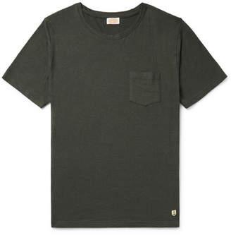 Armor Lux Slub Cotton and Linen-Blend T-Shirt