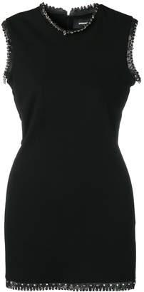 DSQUARED2 studded mini dress