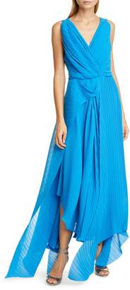 Preen by Thornton Bregazzi Kimber Pleat Georgette Gown