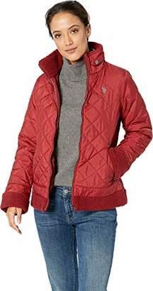 U.S. Polo Assn. Women's Quilt Stitch Puffer Jacket