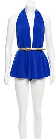 Michael Kors Belted One-Piece Swimsuit w/ Tags
