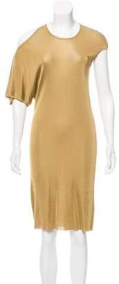 Alexander McQueen Asymmetrical Knit Dress
