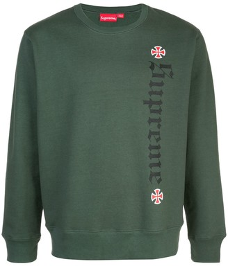 Supreme Independent sweatshirt