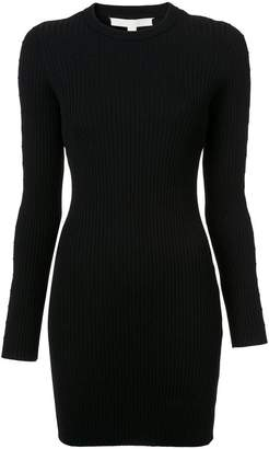 Jonathan Simkhai cut out sleeve ribbed dress