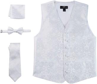 Steven Land Paisley 4-pc. Vest Set - Men