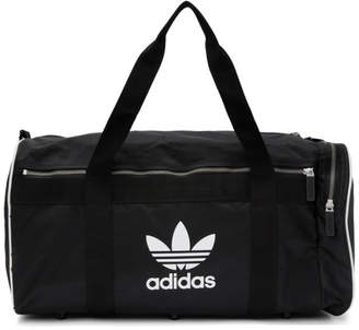 adidas Black Large Duffle Bag