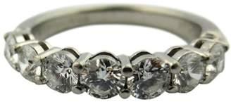 Tiffany & Co. Platinum Diamond Band