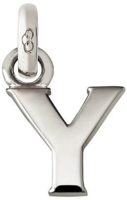Links of London Sterling Silver Letter Y Charm