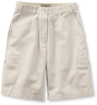 "L.L. Bean L.L.Bean Women's Wrinkle-Free Bayside Cargo Shorts, Original Fit Hidden Comfort Waist 9"""