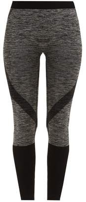 Pepper & Mayne Lara Compression Performance Leggings - Womens - Black Grey