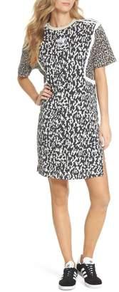 adidas Animal Print Shift Dress