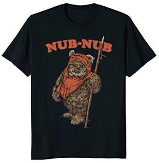 Star Wars Nub-Nub Ewok Vintage Camp Graphic T-Shirt