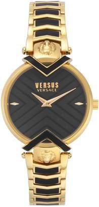 Versace Mabillon Goldtone Stainless Steel Bracelet Watch