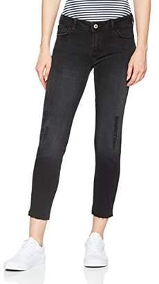 Cross Women's Gigi Skinny Jeans, (Black Destroyed 007)