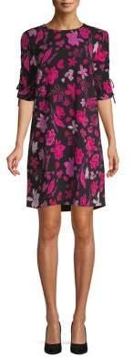 Lord & Taylor Georgie Floral Shift Dress
