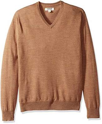 Goodthreads Men's Merino Wool V-Neck Sweater