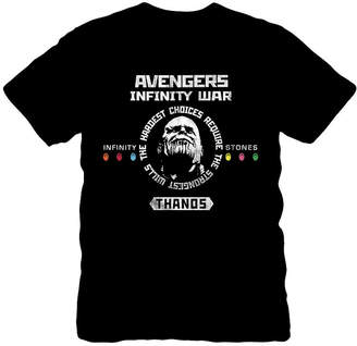 Novelty T-Shirts Thanos Infinity War Lord Graphic Tee